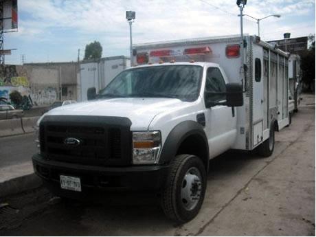 Camión de Rescate Vista Exterior