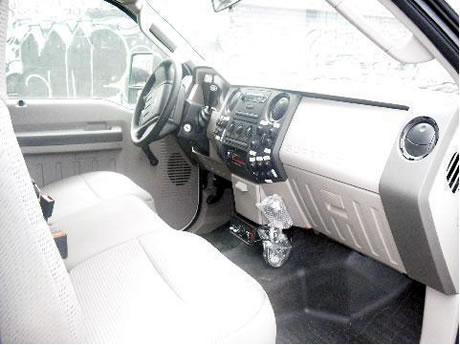 Camión de Rescate Vista Interior
